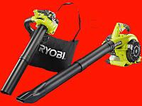 Бензиновая воздуходувка Ryobi RBV26B +мульчирование