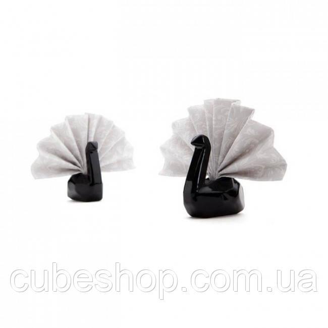 Подставки для салфеток Swans Peleg Design (черные)