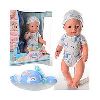 Пупс кукла Baby Born BL014E,  аксессуары