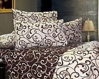 Постельное белье Gold цветное бязь двуспальный