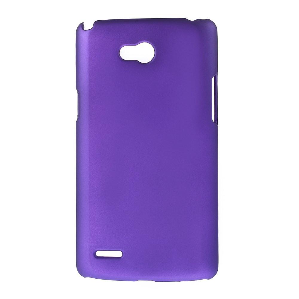 Чехол накладка пластик Rubberized дляLG L80 Dual D380 фиолетовый