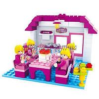 """Конструктор девочке AUSINI 24402  """"Страна чудес дом семья"""" в коробке 22*15*4,5  см."""