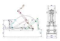 Хуклифт CTS 05-28-K-DIN CHARVAT CTS a.s./ Hook lift CTS 05-28-K-DIN CHARVAT CTS a.s.