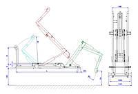 Хуклифт CTS 05-32-K-DIN CHARVAT CTS a.s./ Hook lift CTS 05-32-K-DIN CHARVAT CTS a.s.