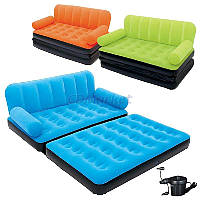 BestWay Акция! Надувной диван BestWay 67356. Скидка 3 % на подушки, ремкомплект и насос при покупке дивана! Спешите, количество товара ограничено!
