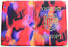 Обложка на паспорт Украины «Фантазия» цвет красный