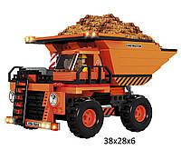 Конструктор  AUSINI 29604  Строители 333 деталей  в коробке 38*28*6,0  см.