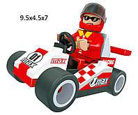 """Конструктор  AUSINI 26101  """"Гонки"""" 36 деталей  в коробке 10*7*4,5  см."""