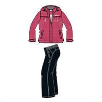 Костюм спортивный  спортивный утепленный женский  CADI Padded suit