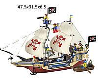 """Конструктор """"Brick"""" 311 (705564) (18шт/2) """"Пиратский корабль"""" 487 дет., в разобр. кор 48*32*7см"""