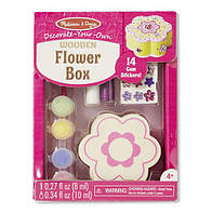 Набор для творчества Шкатулка-цветочек - оформительский набор NEW / Flower Box ТМ Melissa & Doug MD18852
