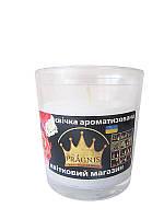 Арома-свеча в стакане Цветочный магазин (Ароматические свечи)