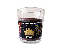 Арома-свеча в стакане Кофе (Ароматические свечи)
