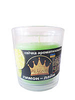 Арома-свеча в стакане Лимон (Ароматические свечи)