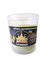 Арома-свеча в стакане Оливка (Ароматические свечи)