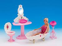 Мебель для кукол Gloria Ванная комната