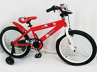 """Велосипед двухколесный 16"""" 300-2 (Обода колес двубортные усиленные DoubleWall, спицы утолщенны,электрический световой звонок,насос в комплекте)"""