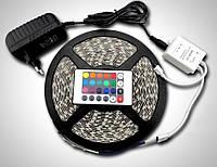 Лента светодиодная RGB+пульт+БП - полный комплект, фото 1