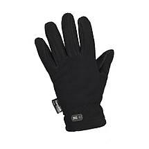 Перчатки зимние Fleece Thinsulate чёрные, фото 3