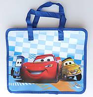 """Папка-портфель детская с ручками """"Cars"""""""