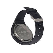 Часы тактические с шагомером чёрного цвета, фото 3