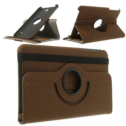 Чехол 360 Градусов Ткань для Samsung Galaxy Tab 4 8.0 коричневый, фото 2