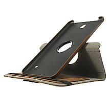 Чехол 360 Градусов Ткань для Samsung Galaxy Tab 4 8.0 коричневый, фото 3