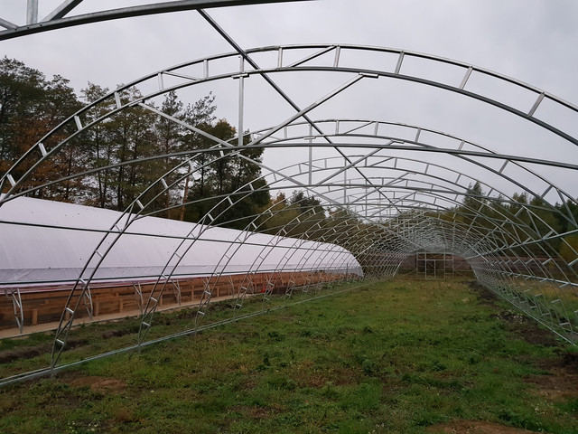 каркас теплицы фермерской