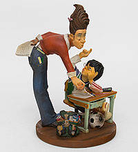"""Прикольная статуэтка """"Учитель"""" купить подарок"""