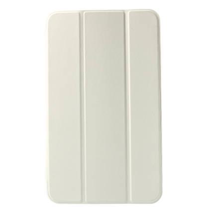 Чехол Подставка Tri-fold Leather Smart для Samsung Tab 4 8.0 белый, фото 2