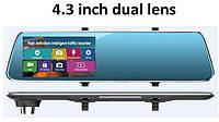 """Регистратор-зеркало DVR L907 / L909 Full HD 4,3"""" + камера заднего вида"""