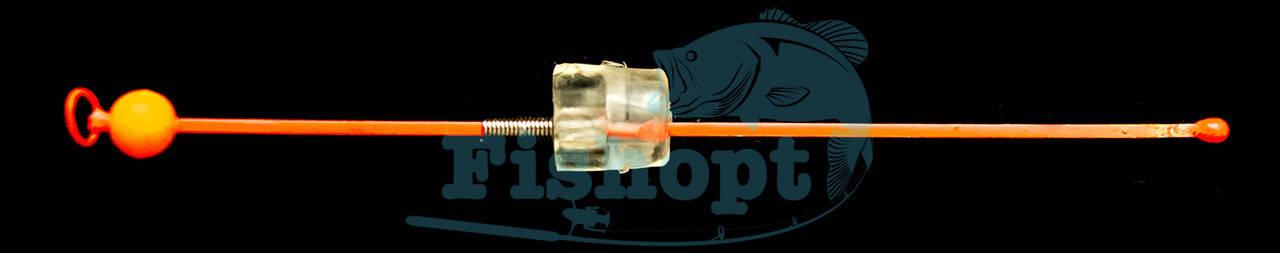Сторожок Универсальный цветной с шариком №3 (0,8 - 3,0G) | 20шт/уп, фото 2