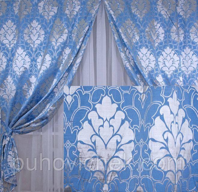 Комплект готовых штор для спальни купить недорого