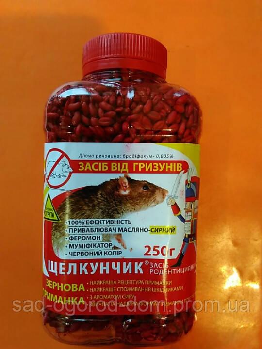 Щелкунчик зерно в ПЭТ бутылке (красный) 250 г