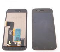 Дисплей (экран) для LG E730 Optimus Sol/E739 myTouch + с сенсором (тачскрином) и рамкой черный Оригинал