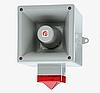 Электронная сирена с красным проблесковым маячком E2S