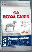 Корм для собак крупных пород склонных к раздражению и зуду кожи Maxi Dermacomfort, 3 кг