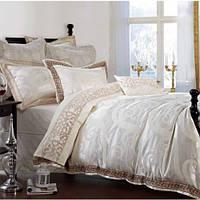 Комплект элитного постельного белья Bella Villa J-0002 жаккард