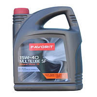 Моторное масло FAVORIT Multilube SF 15w40 4л SF/CD