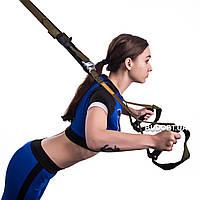 Тренировочные петли трх (тренажер для фитнеса, турника) OSPORT TRX Premium (FI-0037-1)