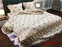 """Двуспальный набор постельного белья Бязь """"Gold"""" №070"""