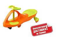 Машинка Бибикар Smart car с полиуретановыми колесами (Bibicar) ORANGE+GREEN