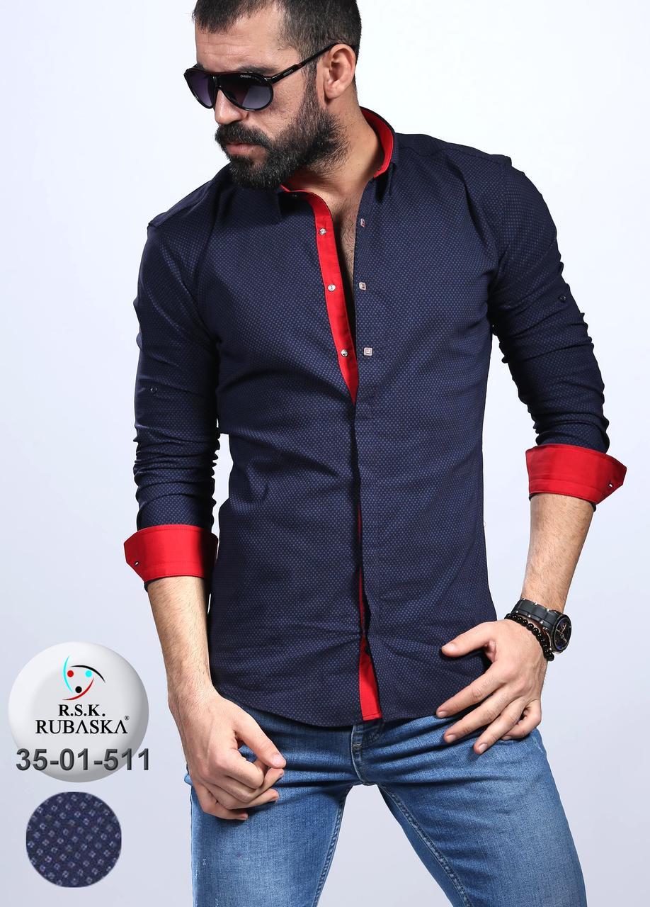 02d5d9b40a5 Мужская рубашка приталенная