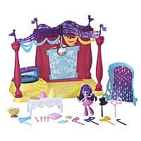 Игровой набор My Little Pony Equestria Girls Minis Искорка танцевальная площадка, фото 1