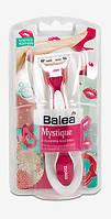 Balea Mystique Женская бритва с гибкой плавающей головкой (3-лезвия) 1 шт.