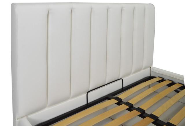 Кровать двуспальная Санам кожзам Бум 01 (фото 4)