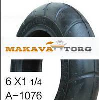 Покрышка на коляску A-1076 (покр+камера) 6x1 1/4 НОТА - Китай