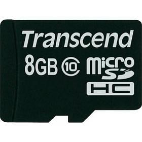 Карта памяти Transcend 8 GB microSDHC class 10 TS8GUSDC10