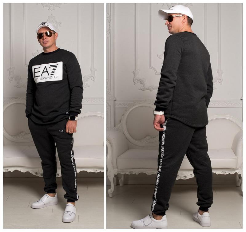 301fb178 Мужской теплый спортивный костюм EA Копия - Интернет магазин