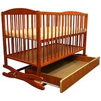 Детская кроватка Klups Radek II (с ящиком) Тик Twins 1510